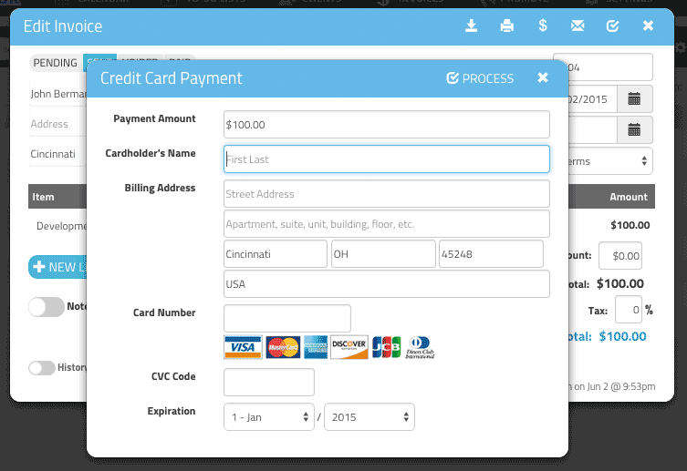 GigaBook Online Payments