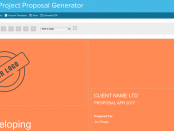 Freelance Project Proposal Generator