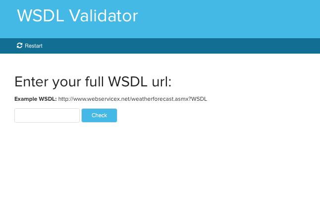 WSDL Validator