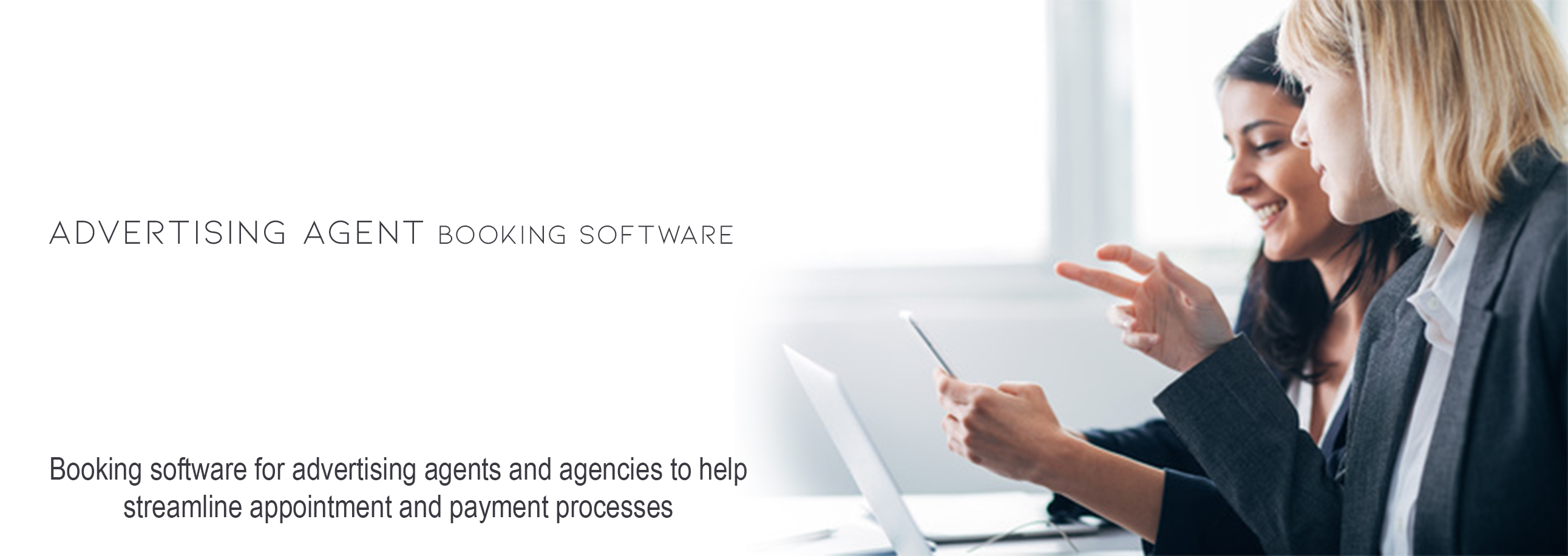 Advertising Agent Booking Software