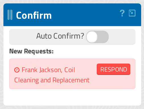 Incoming Appointment View, GigaBook