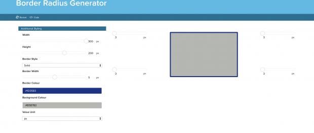 CSS Border Radius Generator   GigaBook