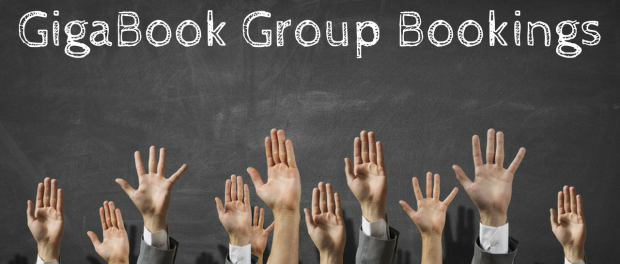 GigaBook Group Bookings